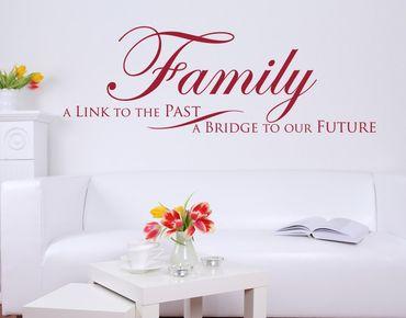 Adesivo murale - Ponte per il nostro futuro