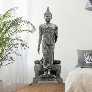 Adesivo murale Buddha Statue