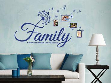 Adesivo murale - Family Life Amore