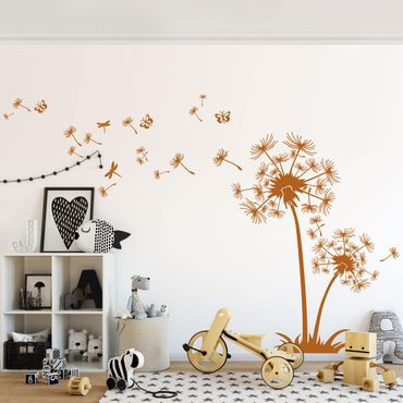 Adesivo murale Dandelion De Luxe