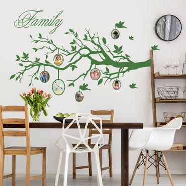Adesivo murale - Albero con foto