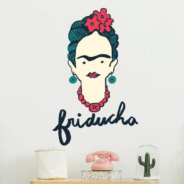 Adesivo murale - Frida Kahlo - Friducha