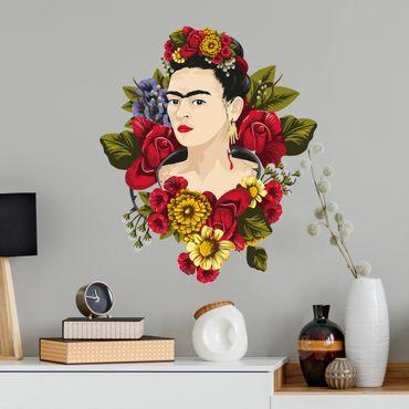 Adesivo murale - Frida Kahlo - Rose