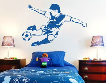 Adesivo murale - Football Star
