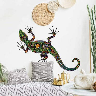 Adesivo murale no.652 Gecko Pattern