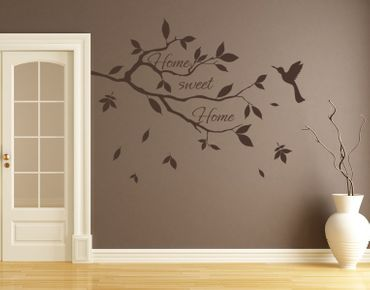 Adesivo murale - Home Sweet Branch