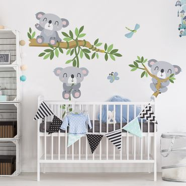 Adesivi murali bambini - Koala set - Stickers cameretta