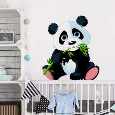 Adesivo murale Nibbling Panda