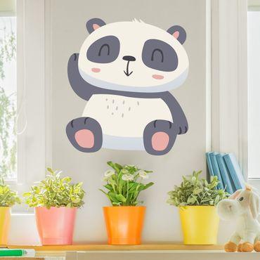 Adesivo murale Sweet panda