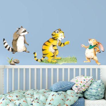 Adesivo murale - Il piccolo tigrotto - Friends Set