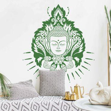 Adesivo murale - Lotus Buddha