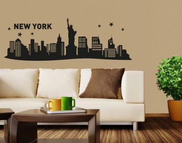Adesivo murale - New York City Skyline