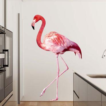 Adesivo murale no.YK21 Pink Flamingo