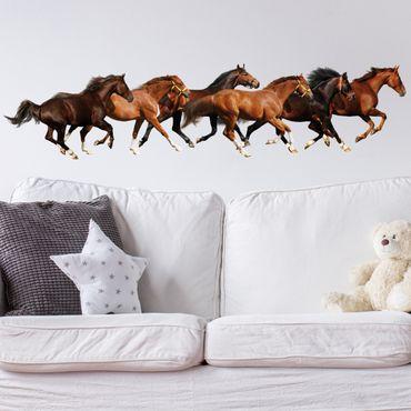 Adesivo murale no.420 Horse Drove