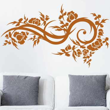 Adesivo murale Fiori onda