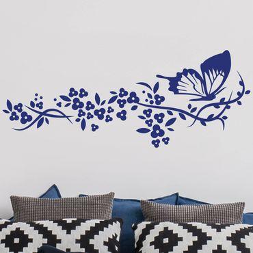 Adesivo murale Farfalla Volo