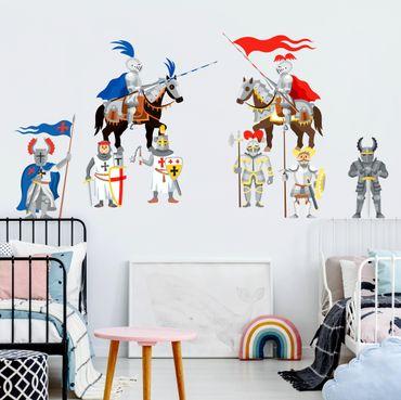 Adesivi murali bambini - Cavalieri - Il grande torneo