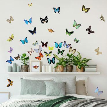 Adesivo murale no.51 Butterflies Set2