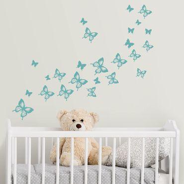 Adesivo murale - Butterflies Set Iii