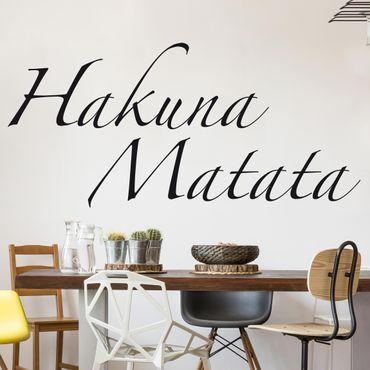 Adesivo murale no.SF363 Hakuna Matata