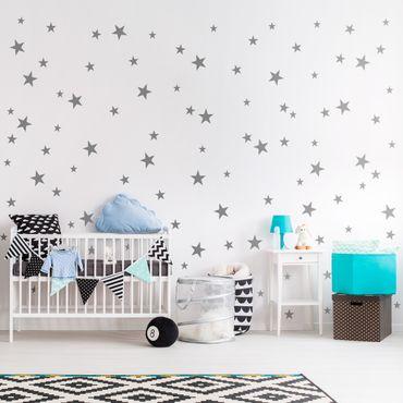 Adesivo murale 92 Stars Set