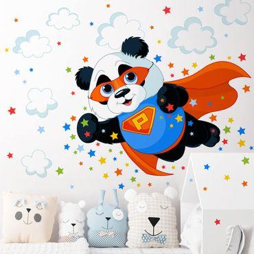 Adesivo murale bambini - Super Panda - Sticker cameretta
