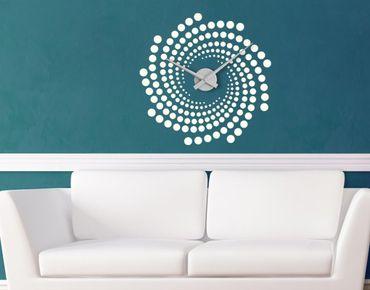 Adesivo murale orologio no.IS113 Helix