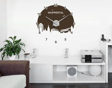 Adesivo murale orologio no.UL646 Submarine-orologio