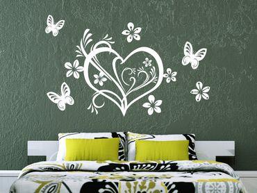 Adesivo murale - San Valentino cuore