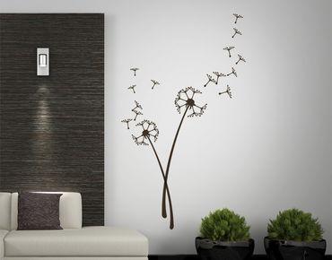 Adesivo murale - Due fiori respiro