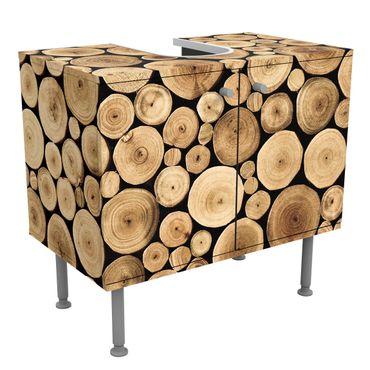 Mobile per lavabo design Homey Firewood
