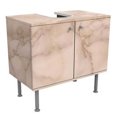Mobile per lavabo design - Marble Look Gray Brown-
