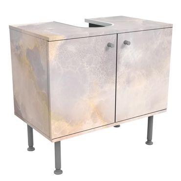 Mobile per lavabo design - Onyx Marble Gray-