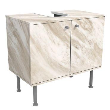 Mobile per lavabo design - Palissandro Marble Beige-