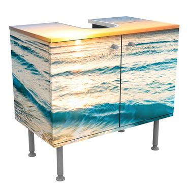 Mobile per lavabo design - Sunset At The Beach-