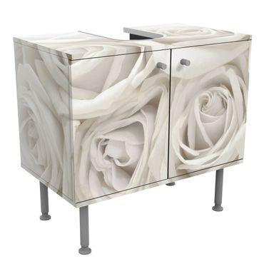 Mobile per lavabo design White Roses