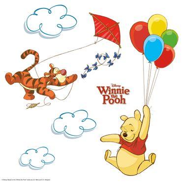Sticker per vetri per bambini - Winnie the Pooh
