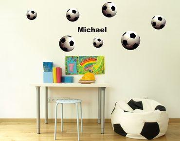 Adesivo murale - calcio