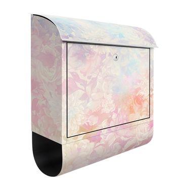 Cassetta postale - Sogno delicato di fiori in pastello