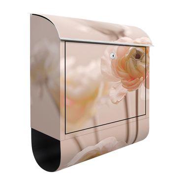 Cassetta postale - Cespuglio delicato di fiori rosa