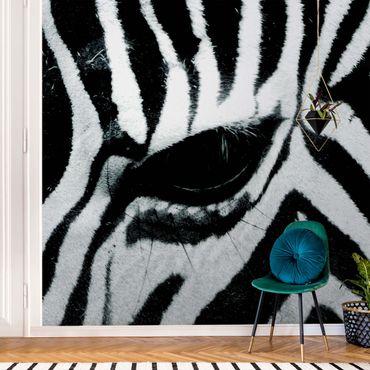 Carta da parati metallizzata - Zebra Crossing