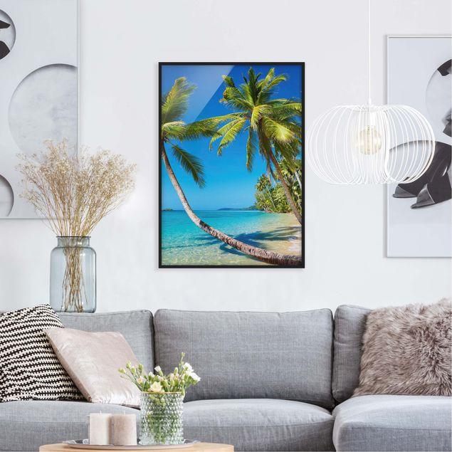 Poster con cornice - Beach Of Thailand - Verticale 4:3
