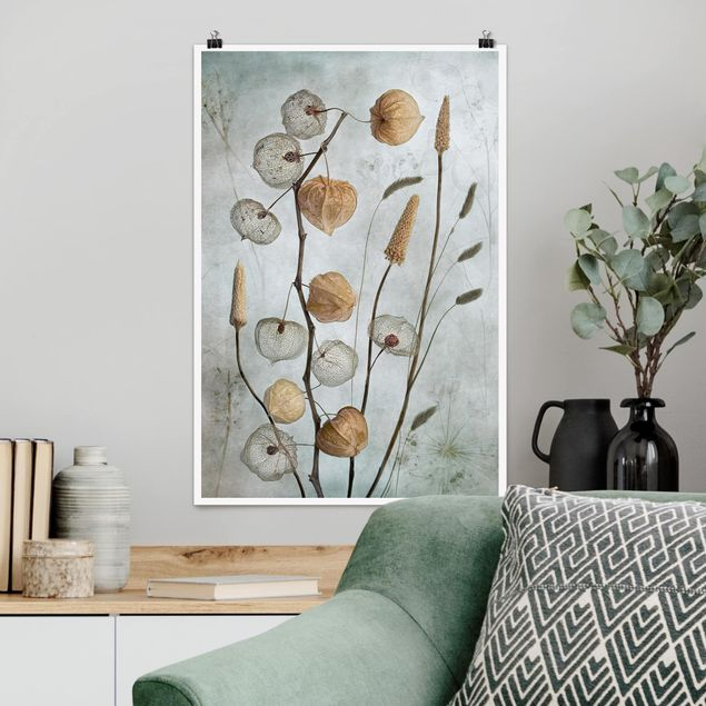 Poster - Frutta lanterna in autunno - Verticale 3:2