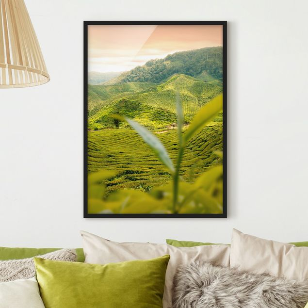 Poster con cornice - Teagarden - Verticale 4:3