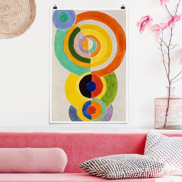Poster - Robert Delaunay - Ritmo I - Verticale 3:2