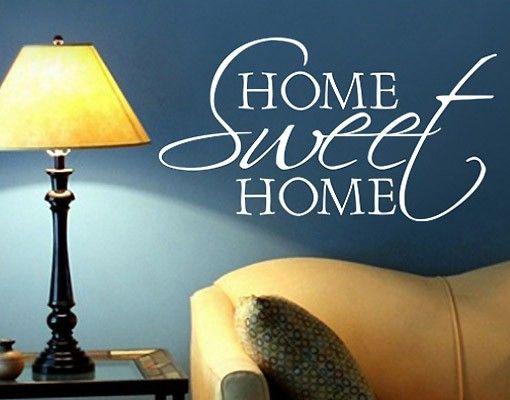 Adesivo murale no.BR133 home sweet home