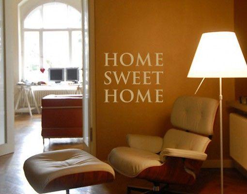Adesivo murale no.SF192 home sweet home 2