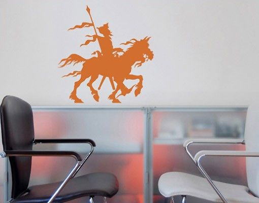 Adesivo murale no.SF135 Don Quichote