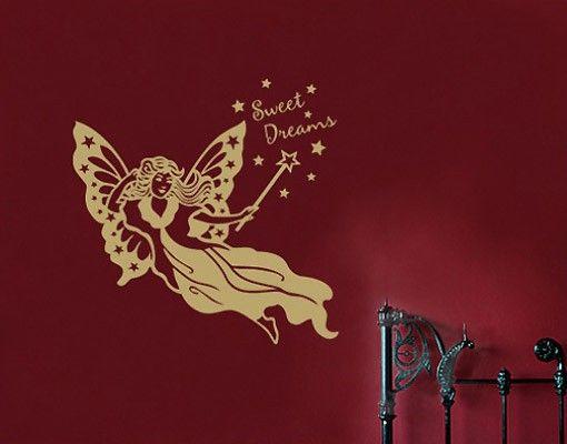 Adesivo murale no.SF286 dream fairy E