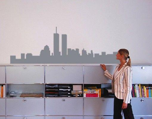 Adesivo murale no.NH38 Skyline New York